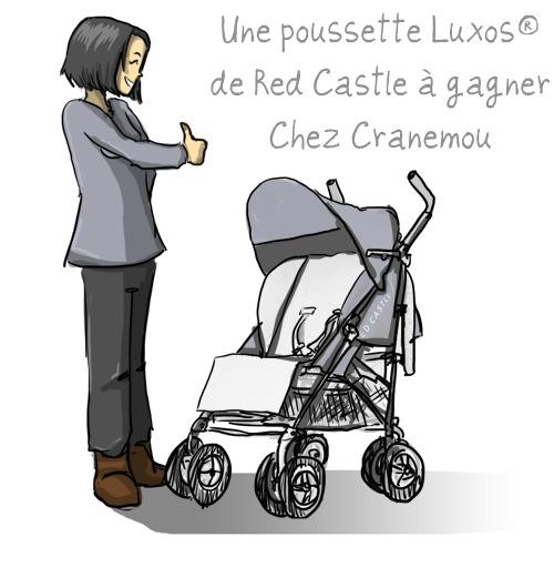 Pousse and parque gagnez une poussette luxos de red castle - Poussette dessin ...