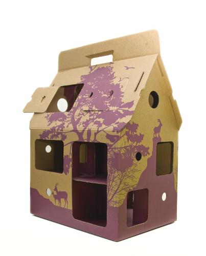 sa maison est en carton les escaliers sont en papier giveaway. Black Bedroom Furniture Sets. Home Design Ideas