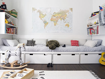 le coin lecture d co. Black Bedroom Furniture Sets. Home Design Ideas