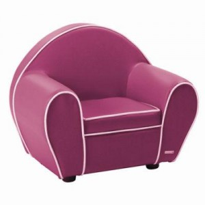 fauteuil club pour enfant rose. Black Bedroom Furniture Sets. Home Design Ideas