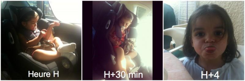 bébé oublié dans la voiture