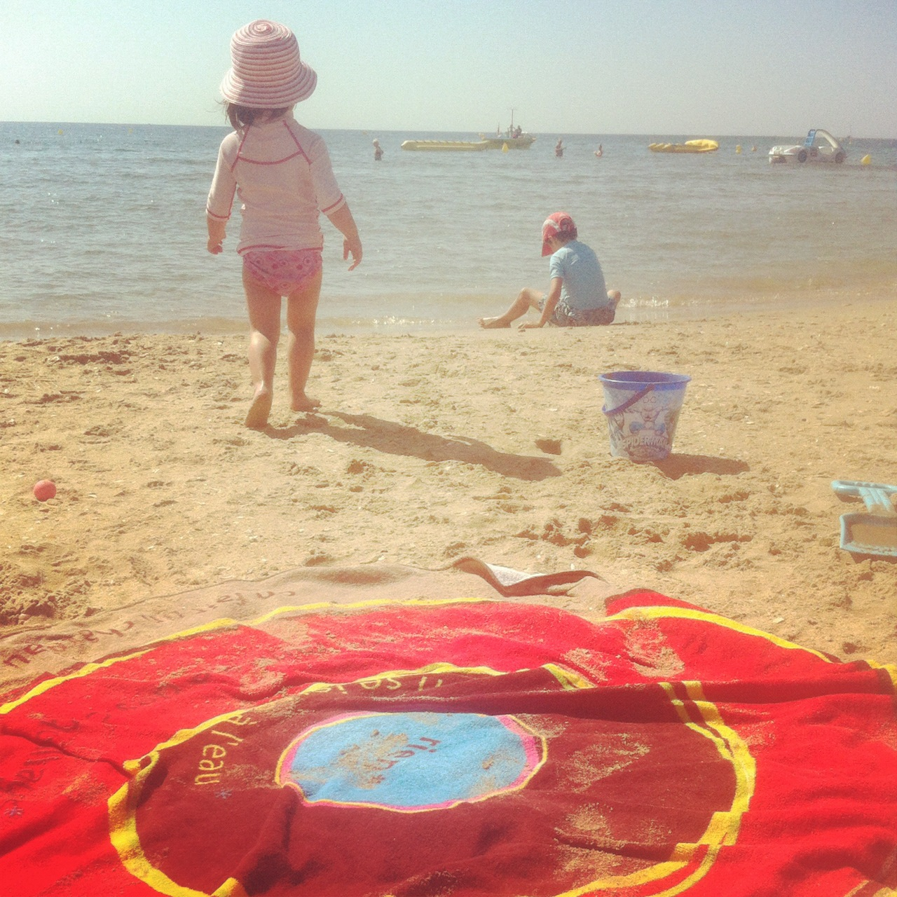 Plage serviette splash - Serviette de plage splash ...