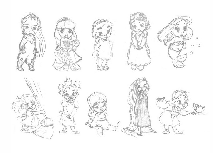 animators disney princesses