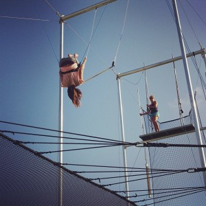 Flying trapeze club med