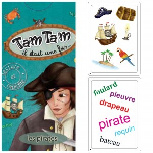 jeu carte Tam tam pirates