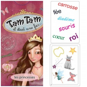 jeu carte tam tam princesses