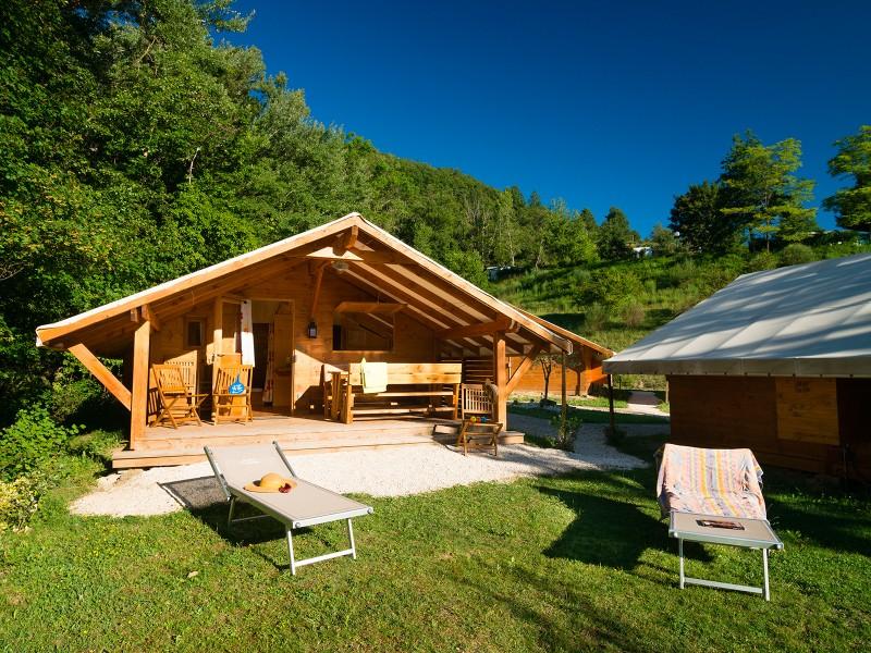 Camping Les Bois de Chatelas - Bourdeaux (26) - YELLOH VILLAGE 2014