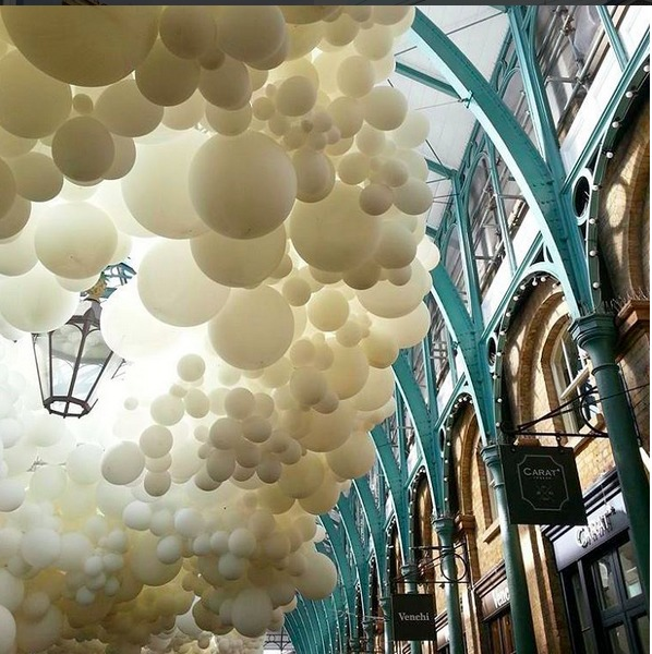 Covent garden balloons petillon design london