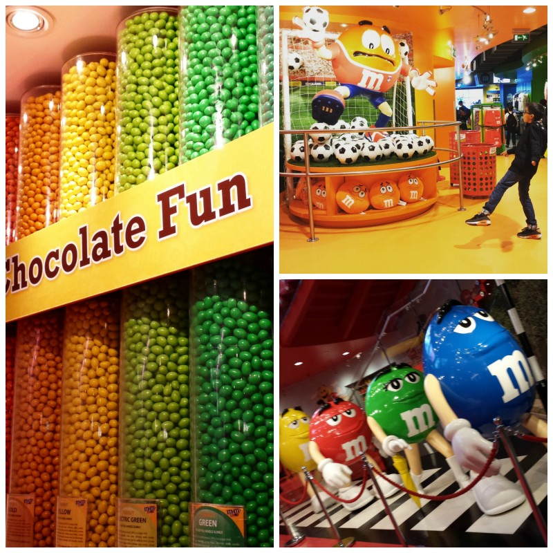 m&m's shop london