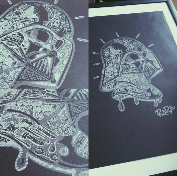 serigraphie star wars