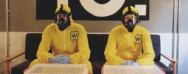 breaking bad combi jaune
